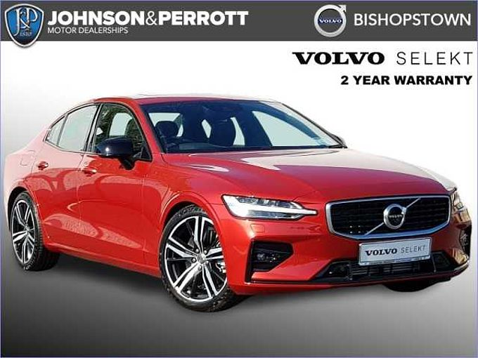 Volvo S60 T5 R-Design Auto  (Panoramic Sunroof, Head Up Display, Adaptive Cruise)