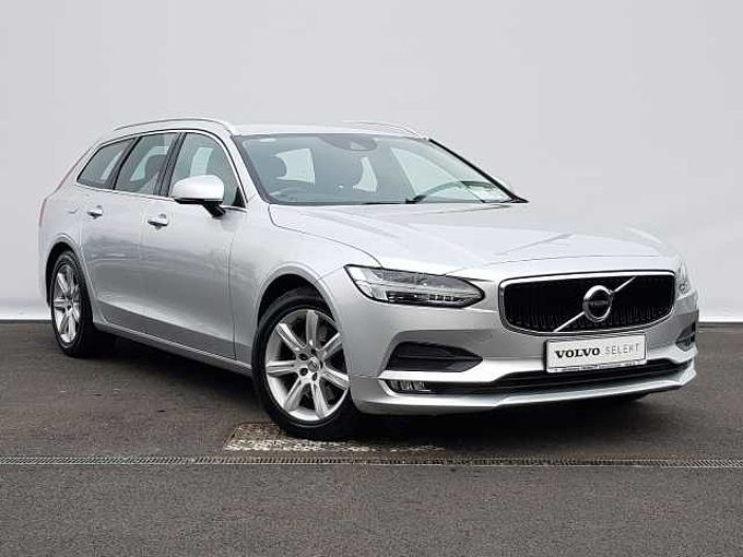 Volvo V90 D4 Momentum Auto (Booster Cushions, Rear Camera, Apple CarPlay, CD Player)